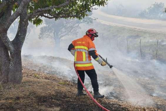 Poum : l'incendie maîtrisé