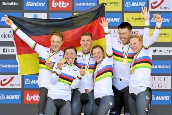 L'Allemagne domine le relais mixte aux Mondiaux