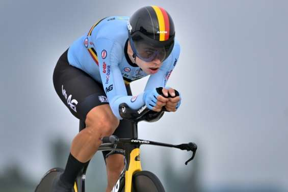 Mondiaux de cyclisme: au pays de Merckx, van Aert alimente tous les fantasmes