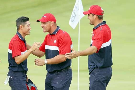 Golf : la jeunesse américaine triomphe sur l'Europe en Ryder Cup