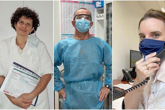 Professionnels de santé, ils se portent volontaires pour aider la population