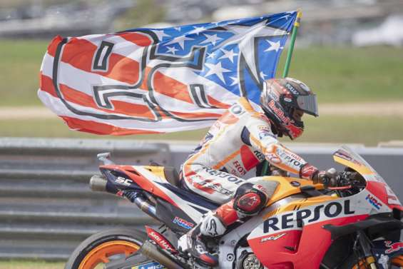 Marc Marquez vainqueur, Fabio Quartararo heureux