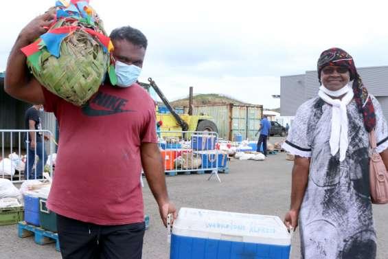 Distribution des vivres en provenance de Maré dès 13heures