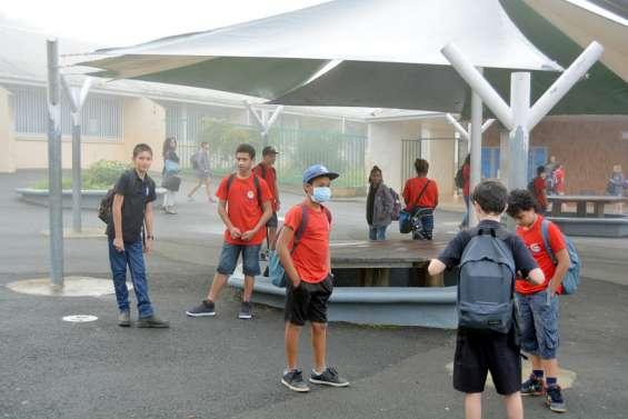 Des aménagements, à Bourail, pour la rentrée des élèves du secondaire