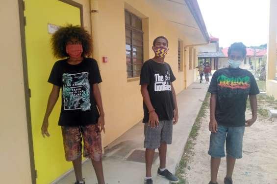 Des collégiens d'Ouvéa livrent leurs impressions sur la crise Covid