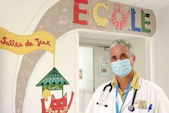 Dr Laurent Besson-Leaud, pédiatre au CHT: