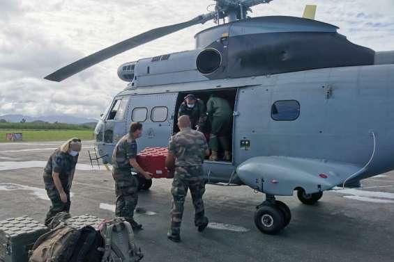 Une équipe médicale du RSMA de retour à Bélep pour vacciner la population