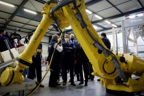 France 2030: 800 millions d'euros pour la robotique, annonce Macron