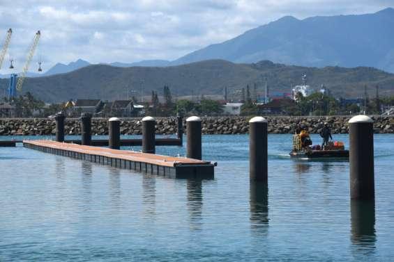 Parking, assainissement, pontons: le chantier de Port-Moselle touche à sa fin
