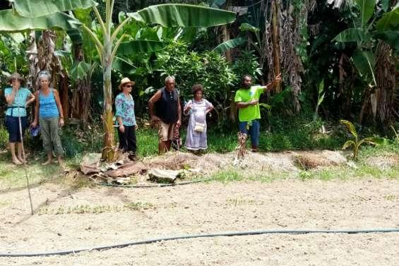 Bio Caledonia a animé deux jours  de rencontres à la tribu de Kako