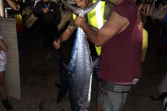 Le concours de pêche aux thazards de Népoui a été relancé