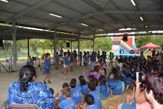 Journée récréative à l'école Saint-Joseph