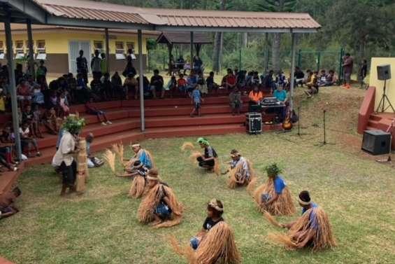 Le collège de Wani en fête