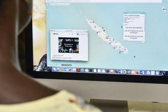 Des contes océaniens à portée de clic