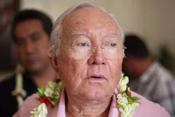 Gaston Flosse condamné à 5ans d'inéligibilité