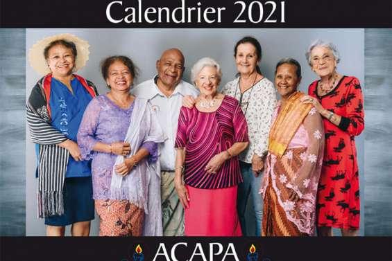 L'Association d'aide aux personnes âgées vend son premier calendrier