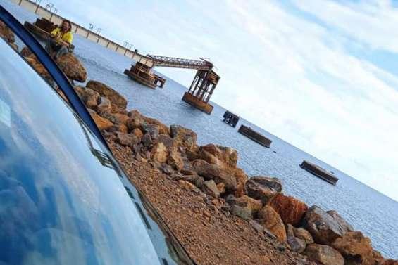 A Thio, les sites miniers et le chargement restent fermés