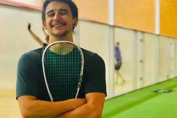 Enzo Corigliano, enfant prodige du squash, s'en est allé