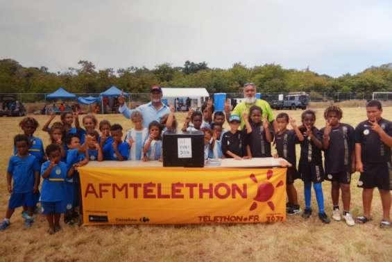 Boca Junior récolte 100000francs pour le Téléthon