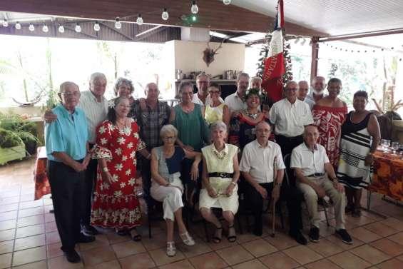 Moment convivial pour les anciens combattants de La Foa et de la région