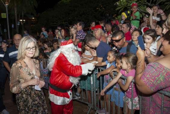 A Nouméa, le père Noël arrivera jeudi à 19 heures