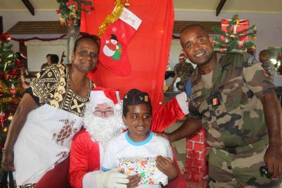 Les enfants du RSMA ont fêté Noël