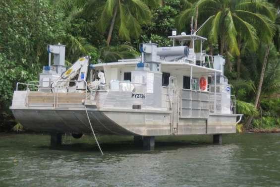 Le Criobe de Moorea doté d'un bateau scientifique