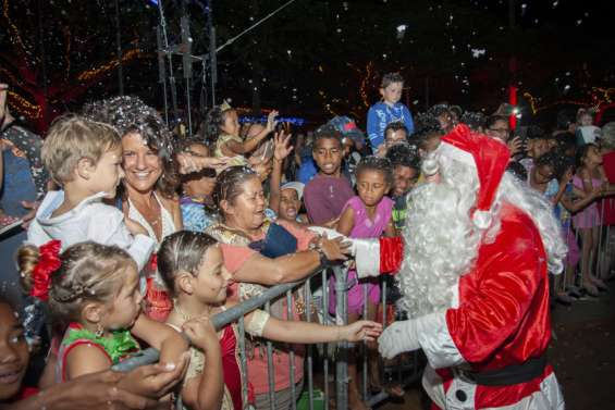 Le père Noël sera bel et bien  au rendez-vous jeudi soir