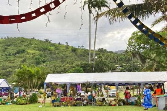 Le village de Canala s'anime pour la Coupe de Noël