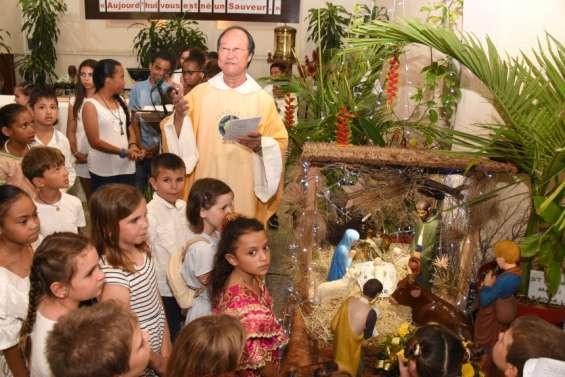 Les fidèles se sont recueillis en prière