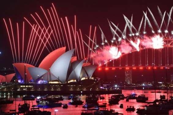 À Sydney, un feu d'artifice sans spectateur