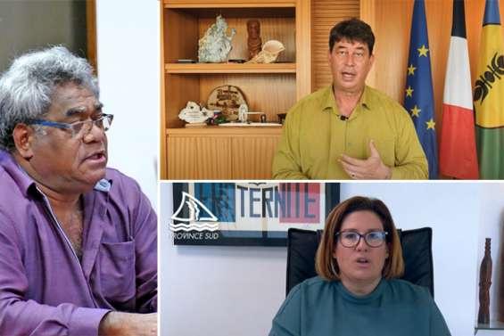 Sonia Backès, Jacques Lalié et Thierry Santa formulent leurs vœux pour 2021