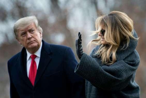 Trump, fin 2020: golf, tweets et colères