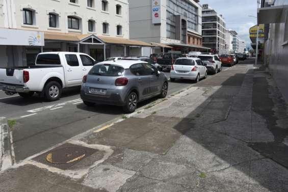 La réfection des trottoirs est lancée rue Gallieni