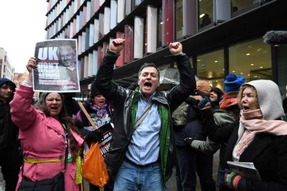 Londres refuse d'extrader Assange vers les États-Unis