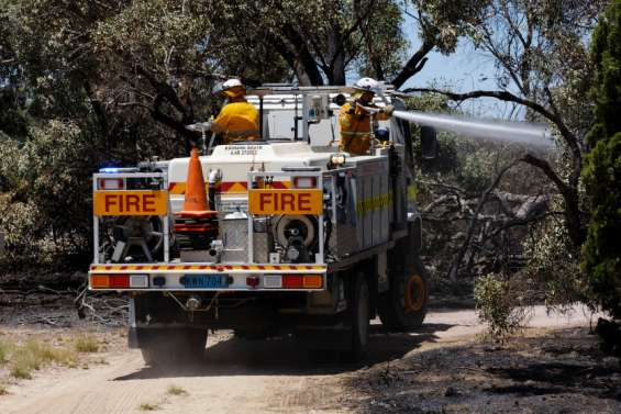 Australie : d'importants incendies dans la région de Perth