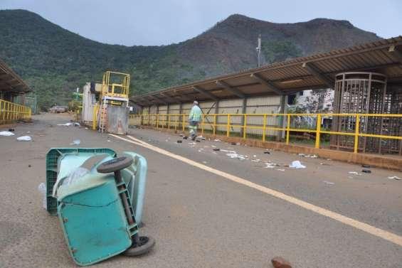 De 5 mois ferme à 4 mois de sursis pour les personnes interpellées à Goro