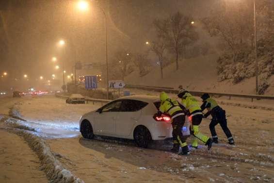 Tempête de neige meurtrière en Espagne