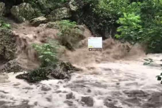 A Koumac, les grottes toujours fermées