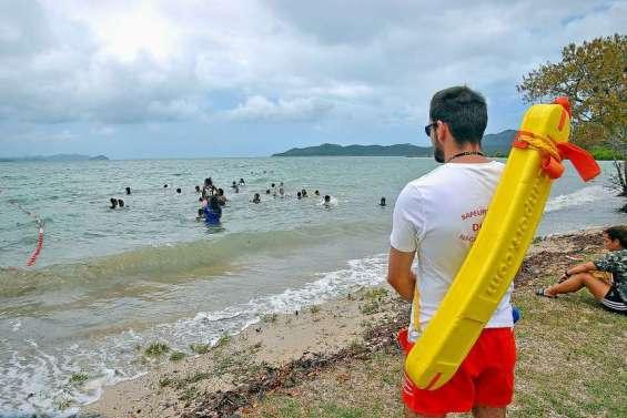 Baignade et pêche interdites plage de Nouré