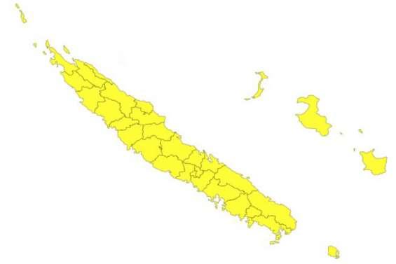Vigilance jaune, fortes pluies et orages sur tout le pays