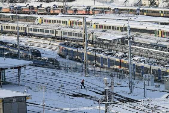 Le temps samedi: de la neige attendue du Nord à l'Ile-de-France, gelées quasi-généralisées