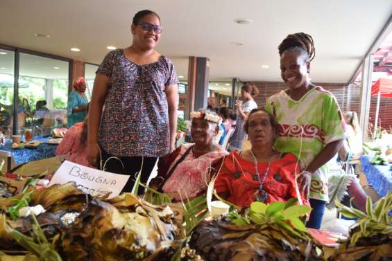 Lesfemmes rurales sont déjà de retour au centre culturel Tjibaou