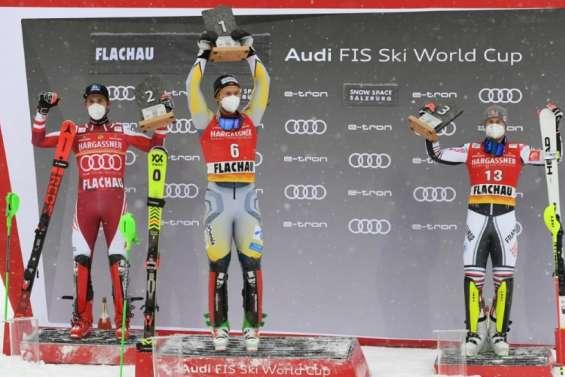 Ski alpin: Foss-Solevaag vainqueur à Flachau, belle opération pour Pinturault 3e