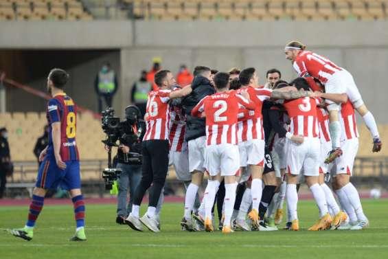 Le Barça cède la Supercoupe à Bilbao