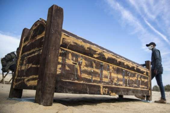 L'Egypte dévoile des trésors trois fois millénaires dans la nécropole de Saqqara