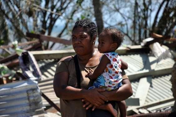 Cyclone : les États-Unisdonnent 300000dollars aux Fidji