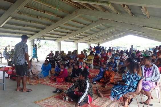 Les jeunes de Gaïca réunis à Drueulu