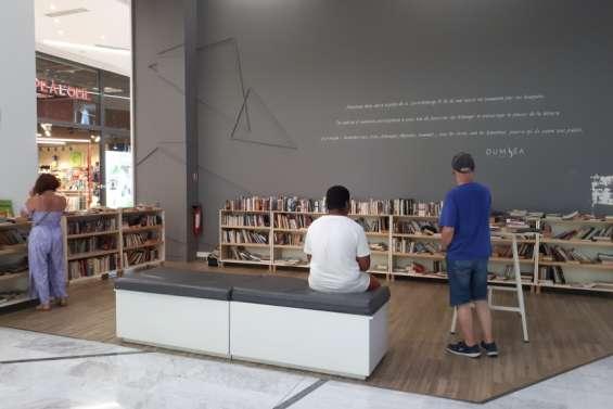 La littérature se partage librement au Dumbéa Mall