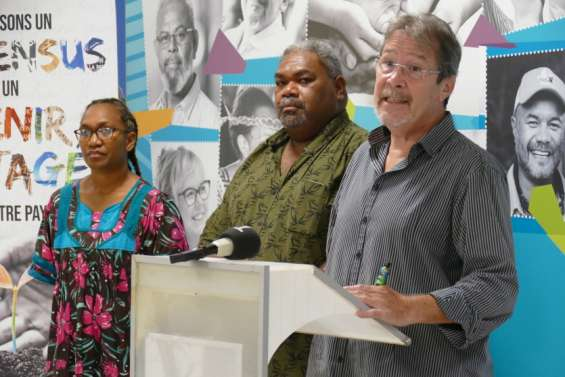 Vale, SLN: Calédonie ensemble demandeà l'Étatdavantage d'implication